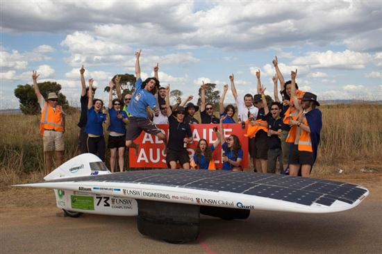 The Fastest Solar Car Sunswift IVy - 03