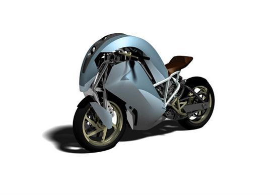 Agility Saietta Electric Motorcycle Hits The Streets in April - 01