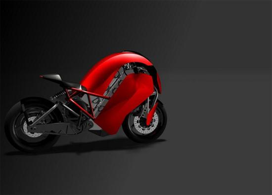 Agility Saietta Electric Motorcycle Hits The Streets in April - 02