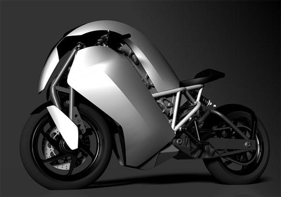 Agility Saietta Electric Motorcycle Hits The Streets in April - 03
