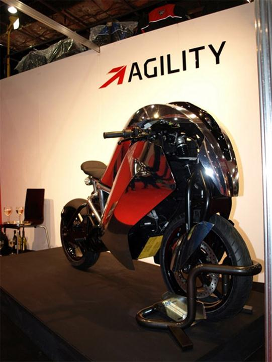 Agility Saietta Electric Motorcycle Hits The Streets in April - 06