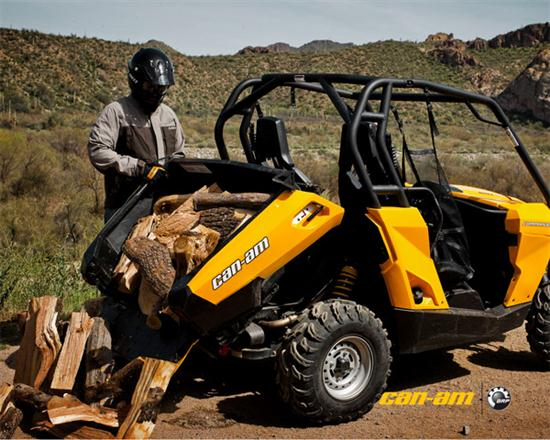 Can-Am Commander Side-by-Side Vehicle - 02