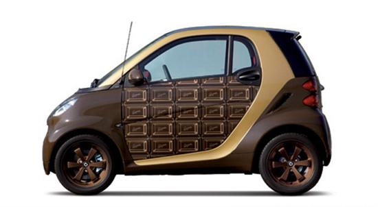 Chocolate Smart ForTwo Valentine Special - 01