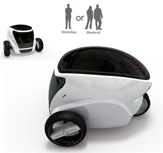 Meet Met electric Car With Home Swappable Batteries - 02