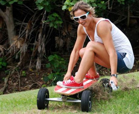 Electric Skateboard with ABS Brakes and Wireless Remote - 05