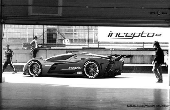 Incepto GT Concept Vehicle - 01