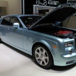 Rolls-Royce 102EX Electric Vehicle at Geneva Auto Show