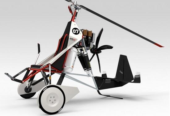 The Fliege - Sportgyrocopter Concept - 03