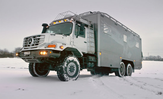 Zetros Ultra Luxury Mercedes 6X6 RV Truck Custom-Built Living Station - 01