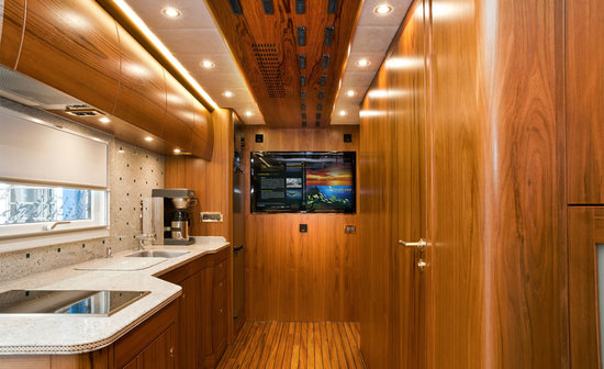Zetros Ultra Luxury Mercedes 6X6 RV Truck Custom-Built Living Station - 06