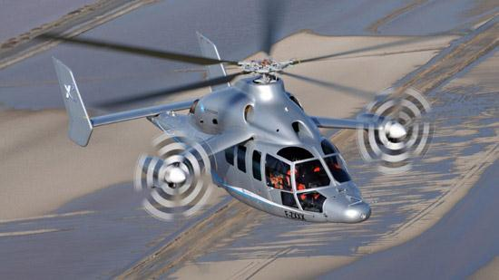 Eurocopter X3 Hybrid Helicopter 01