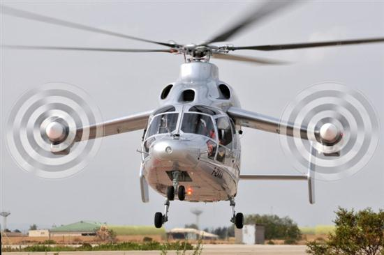 Eurocopter X3 Hybrid Helicopter 02