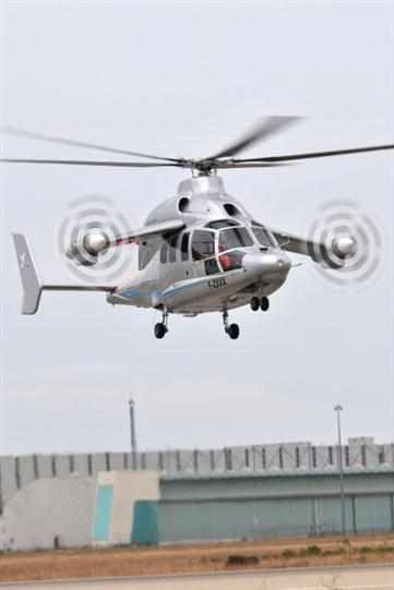 Eurocopter X3 Hybrid Helicopter 04