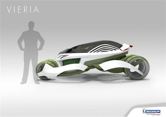 Vieria Concept Vehicle Recycle Air Pollution and Emits Clean Air - 06