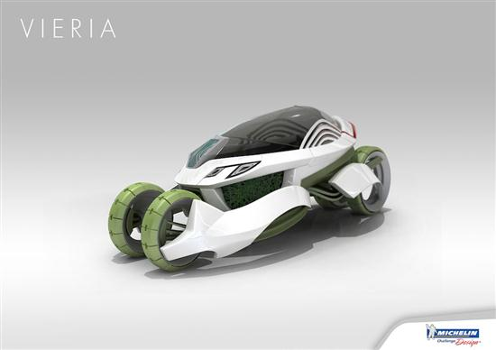 Vieria Concept Vehicle Recycle Air Pollution and Emits Clean Air - 07
