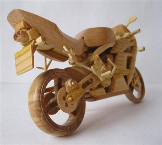 Wooden Motorbikes Models Cars Show