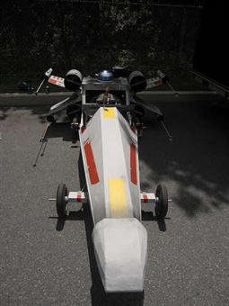 X-Wing Fighter Soapbox Car - 01