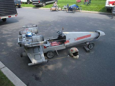 X-Wing Fighter Soapbox Car - 02