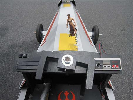 X-Wing Fighter Soapbox Car - 04