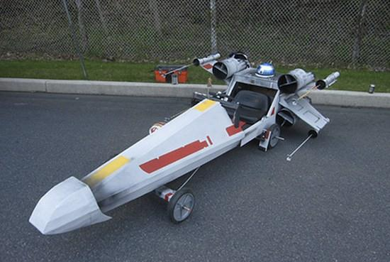 X-Wing Fighter Soapbox Car - 06