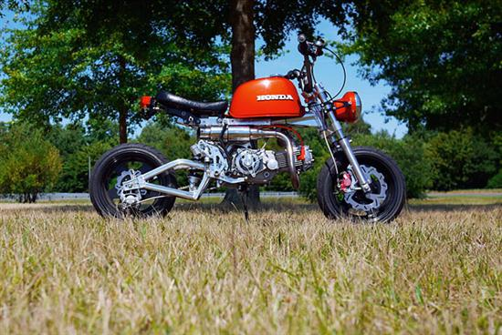 Custom Honda Monkey (Gorilla Bike) - 03