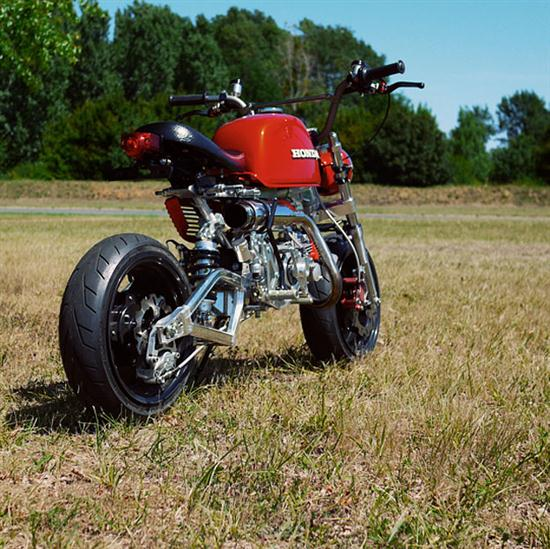 Custom Honda Monkey (Gorilla Bike) - 06