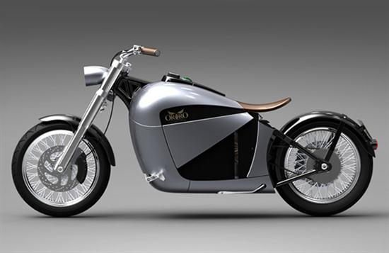 Orphiro Electric Motorcycle Wide-Body Cruiser - 01