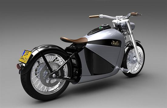 Orphiro Electric Motorcycle Wide-Body Cruiser - 03