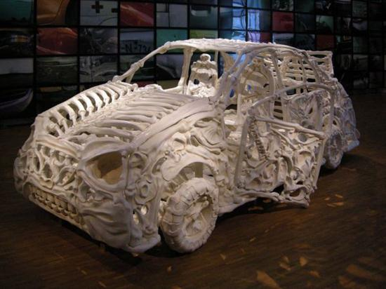 Vehicles Made Of Bones Cars Show