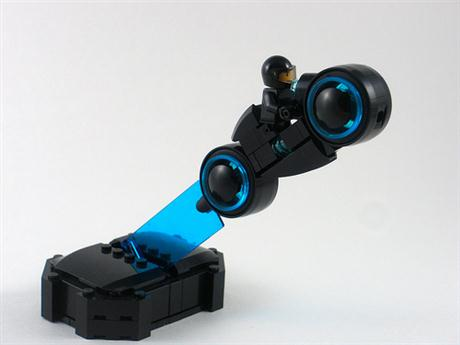 lego tron legacy lightcycle cars show