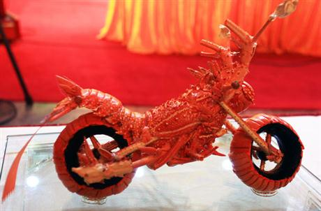 Lobster Shells Motorcycle - 01