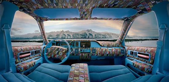 Louis Vuitton, Burberry and Fendi Themed Car Interiors ...