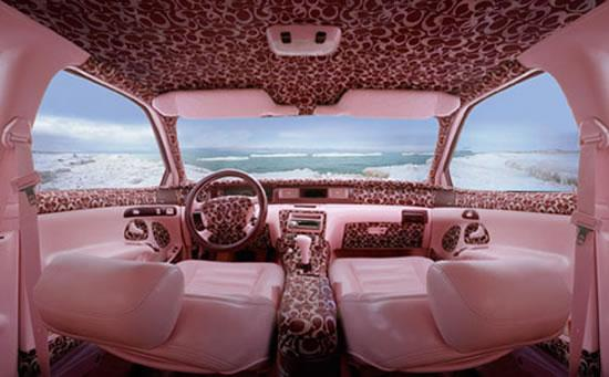 Louis Vuitton, Burberry and Fendi Themed Car Interiors - 04
