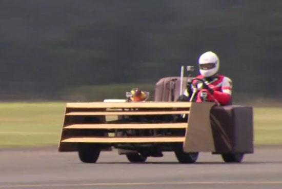 Couch Drive At 100 mph - 01