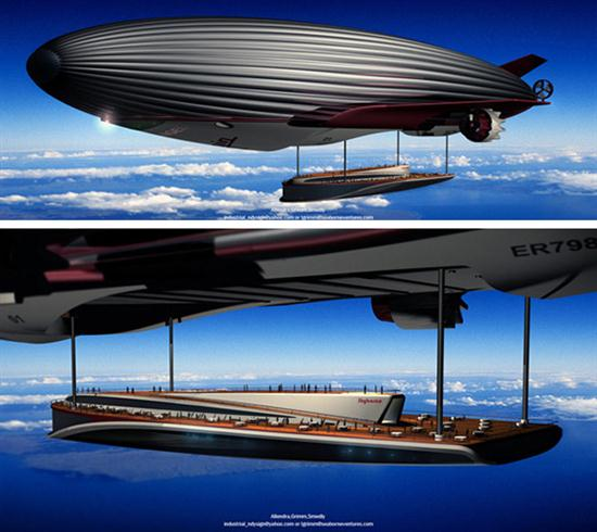 Disaster Relief Airship - 02