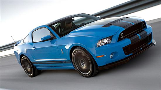 2013 Ford Shelby GT500 With 202 MPH of Top Speed - 01