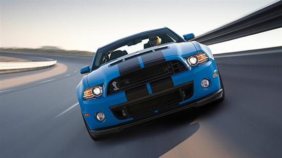2013 Ford Shelby GT500 With 202 MPH of Top Speed - 02