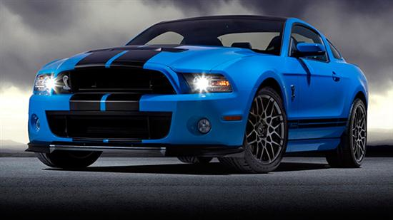 2013 Ford Shelby GT500 With 202 MPH of Top Speed - 03