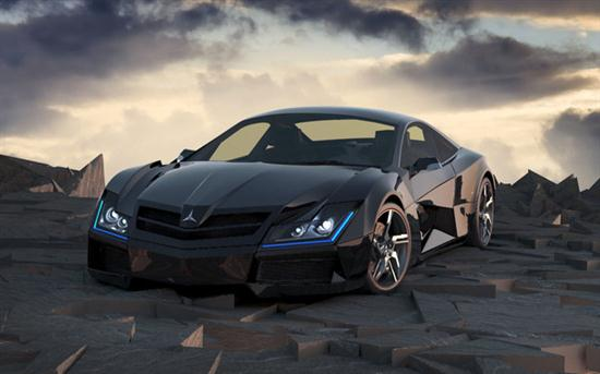 Crazy Mercedes-Benz SF1 Concept by Steel Drake - 01