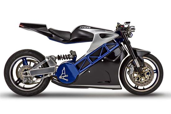 Evolve Lithium Motorcycle - 02