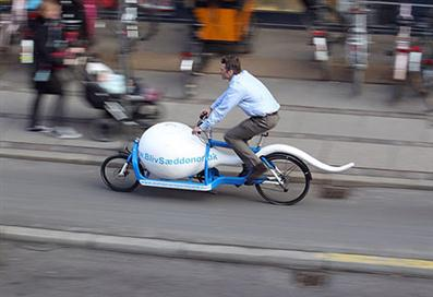 Sperm Bike for Transporting Donor Samples - 01