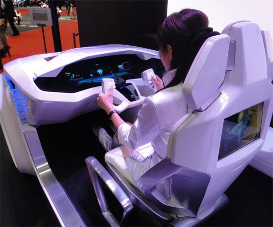 Car Interface for Next Decade by Mitsubishi Electric - 01