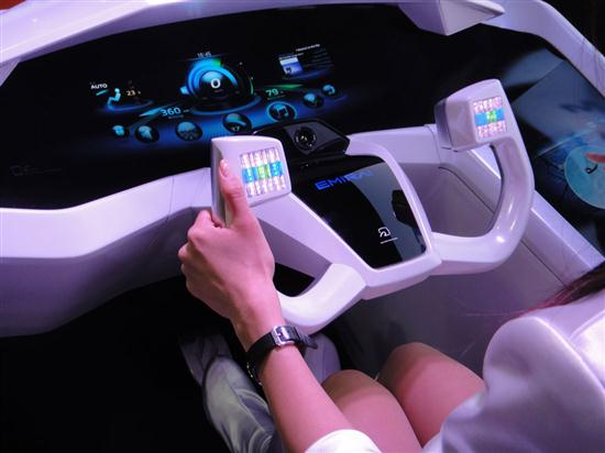 Car Interface for Next Decade by Mitsubishi Electric - 02