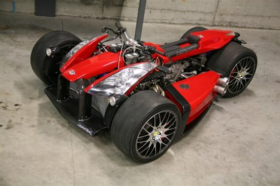Lazareth Wazuma V8F – Powered By Ferrari - 01