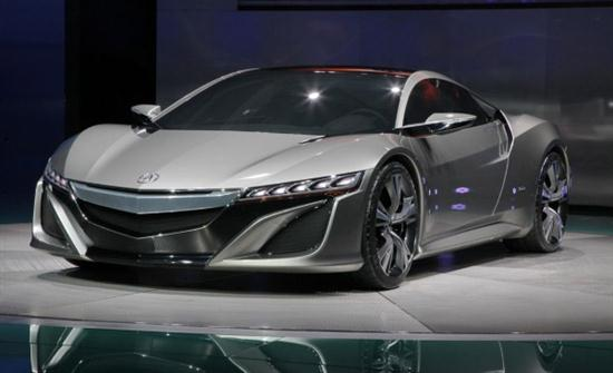 Acura Nsx Advanced Sports Car Concept 2012 Cars Show