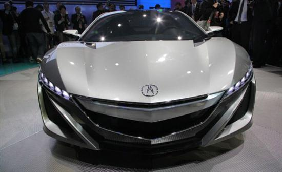 Acura NSX Advanced Sports Car Concept 2012 - 02