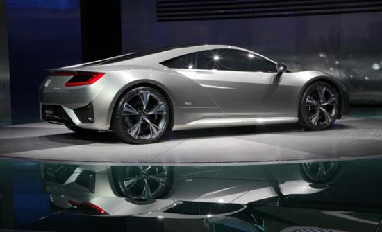 Acura NSX Advanced Sports Car Concept Cars Show - Sports cars 2012