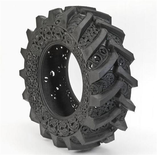 Hand-Carving Car Tires - 09