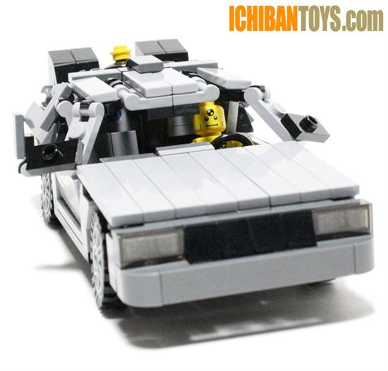 Lego DeLorean DMC-12 - 02