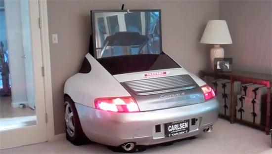 Porche 996 TV Display - 01